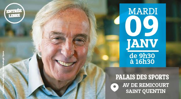 Commencez l'Année 2018 sur de bonnes bases en venant au Forum de la Deuxième Jeunesse® le Mardi 9 Janvier à Saint-Quentin !