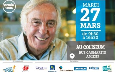Avis aux seniors d'Amiens… le Forum de la Deuxième Jeunesse® arrive !