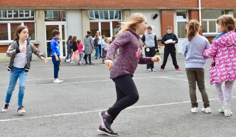 Savoir Bouger: après-midi sportif à l'école Jean Zay de Hirson!