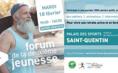 Les Forums de la Deuxième Jeunesse reviennent : bientôt à Saint-Quentin !