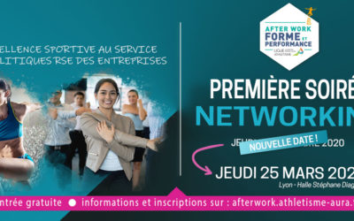 AFTER WORK FORME & PERFORMANCE A LYON : date reportée