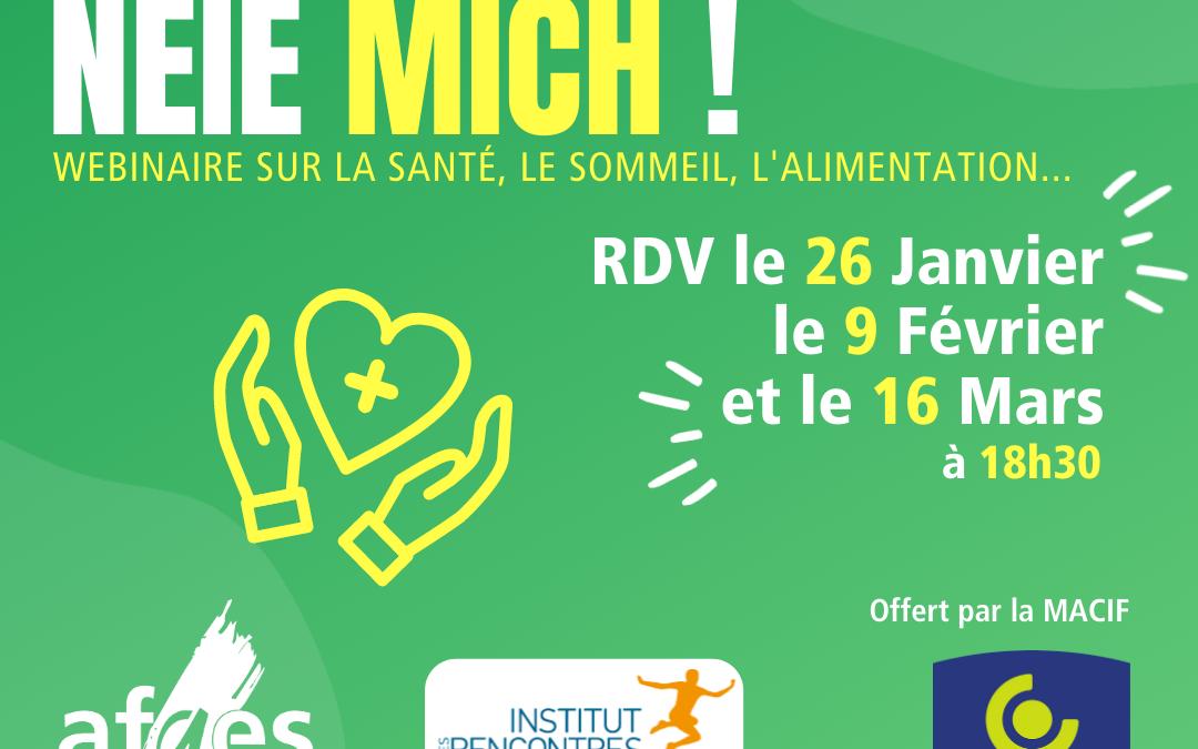 « Nouvelle année, nouveau moi » : les étudiants de l'Université de Strasbourg encouragés à booster leur forme !