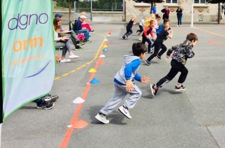 JEF24 : 330 élèves testent leur niveau de forme à Amiens