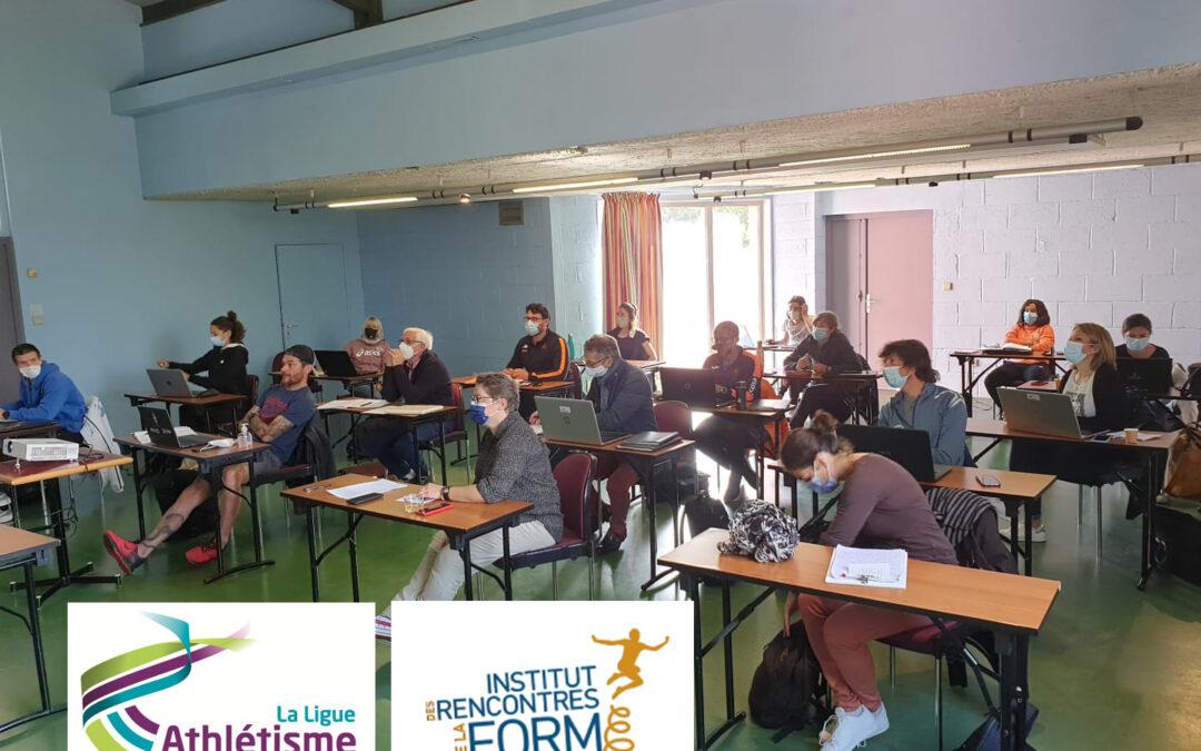 La ligue athlétisme en Pays de la Loire, nouveau relais territorial de l'IRFO