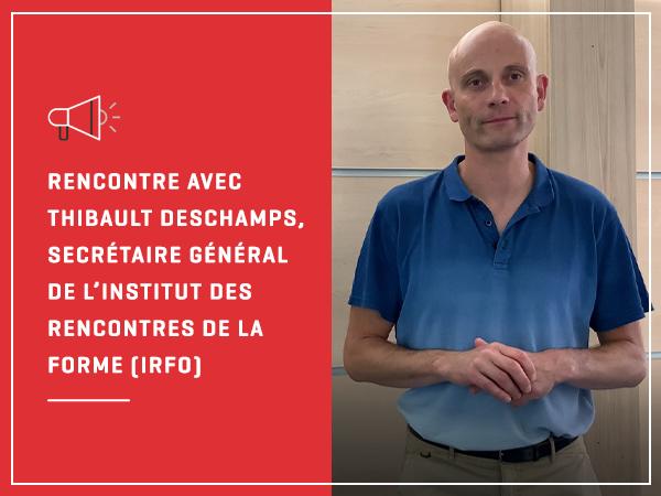 Interview de Thibault Deschamps pour le Parc Eurasanté